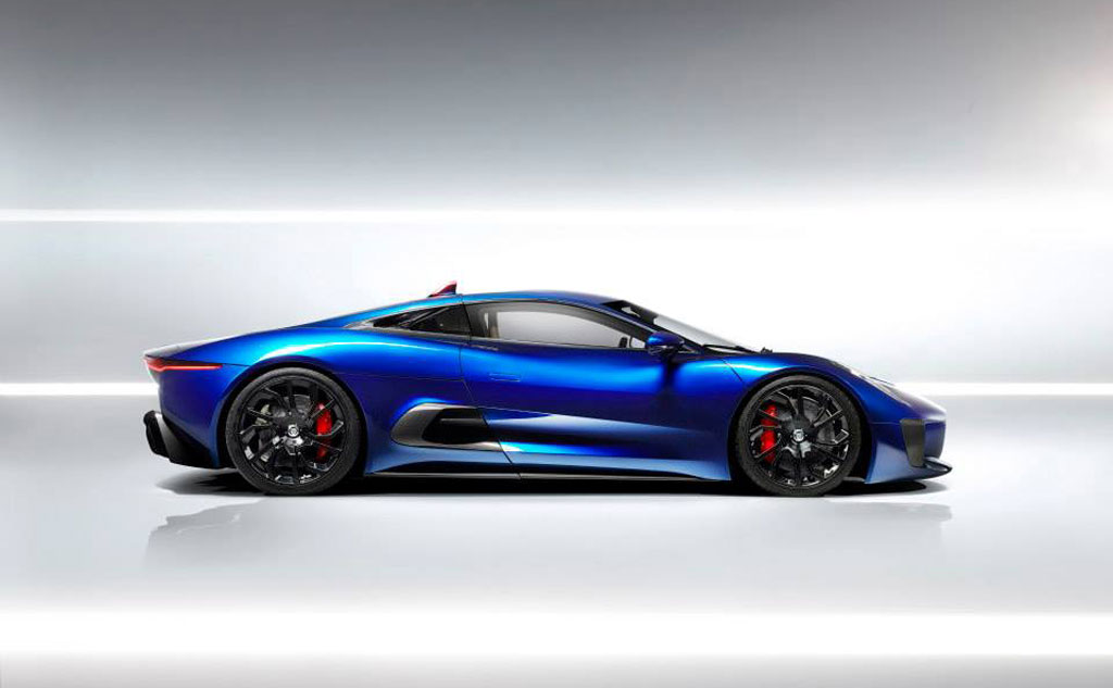Jaguar Revisits Stillborn C X75 Supercar Video