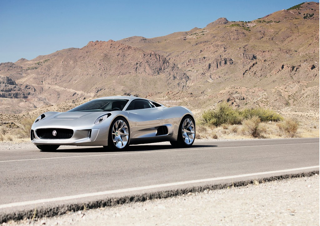 jaguar c x75 plug in hybrid supercar coming in 2013. Black Bedroom Furniture Sets. Home Design Ideas