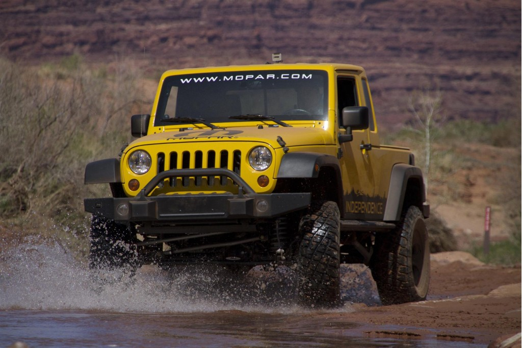 Jeep Wrangler Unlimited JK 8 Pickup Conversion Package