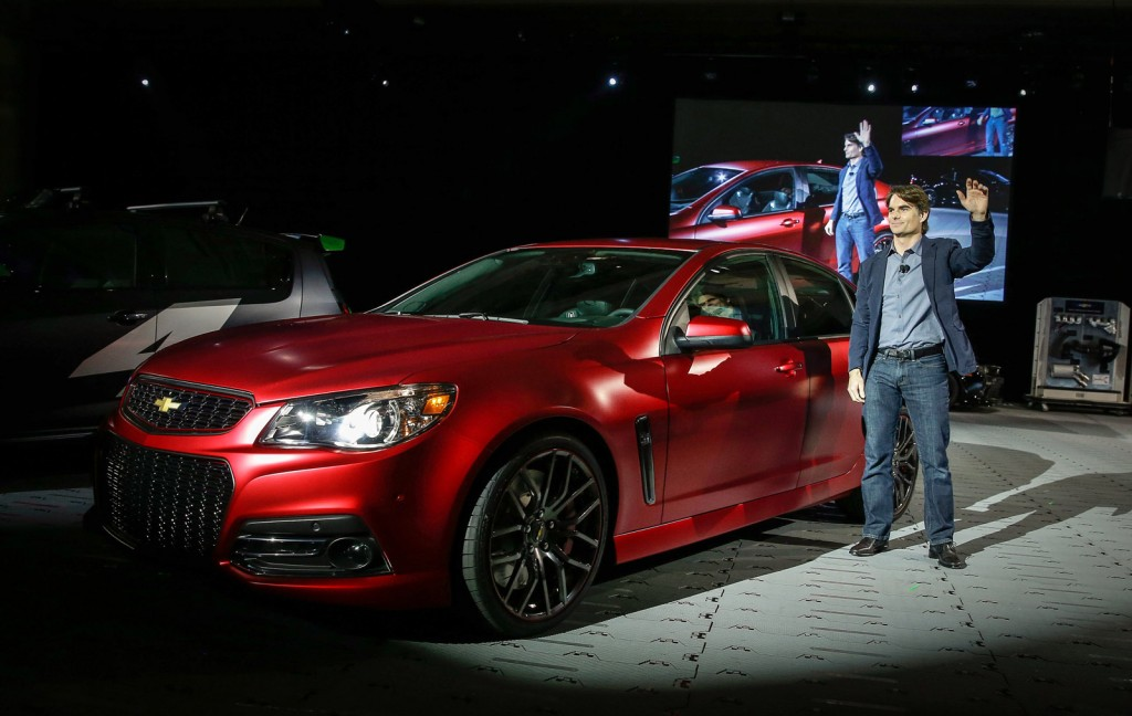 Jeff Gordon Chevrolet >> 2014 Chevrolet Ss Prepped By Jeff Gordon Live From Sema