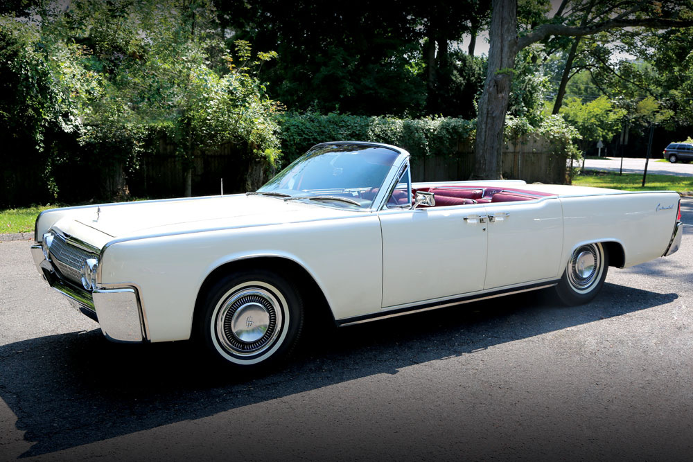 second to last lincoln continental jfk rode in up for sale. Black Bedroom Furniture Sets. Home Design Ideas