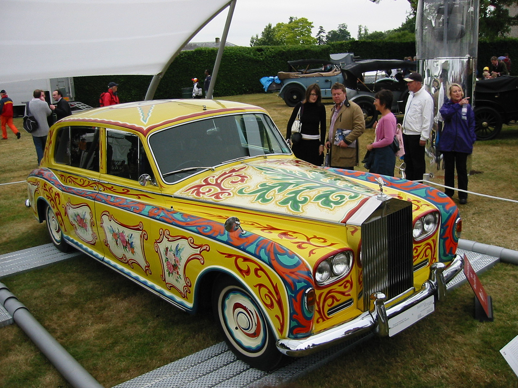 John Lennon S Rolls Royce Phantom Has Its Own Caretaker