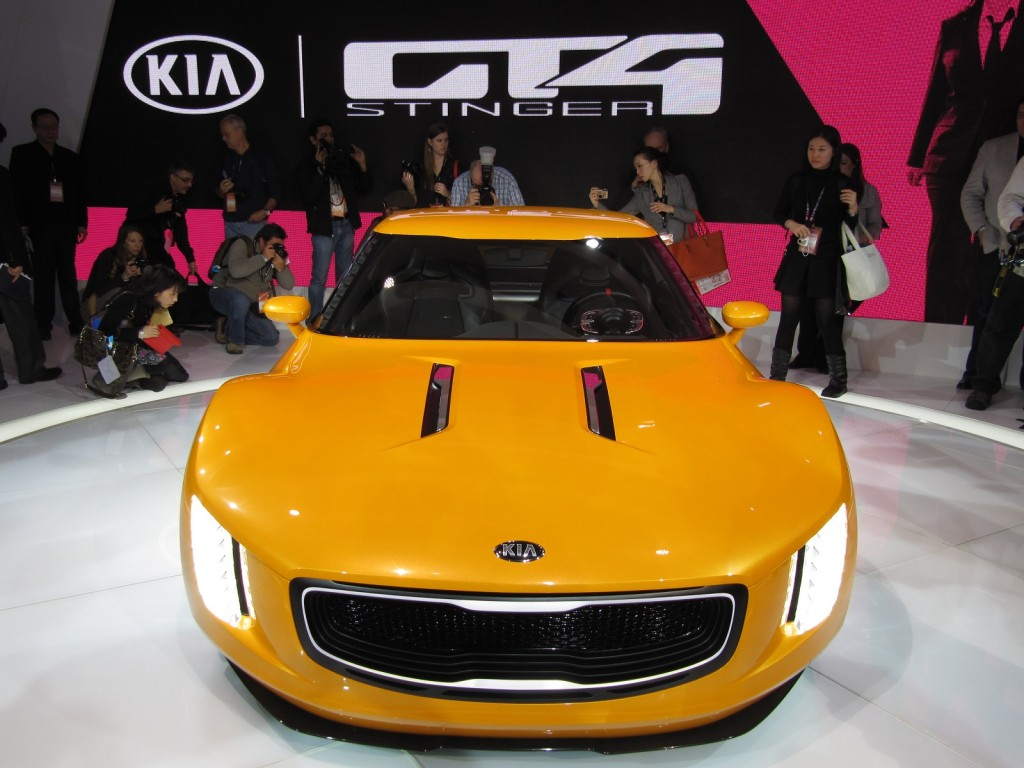 kia teases sports car concept for 2014 detroit auto show autos post. Black Bedroom Furniture Sets. Home Design Ideas