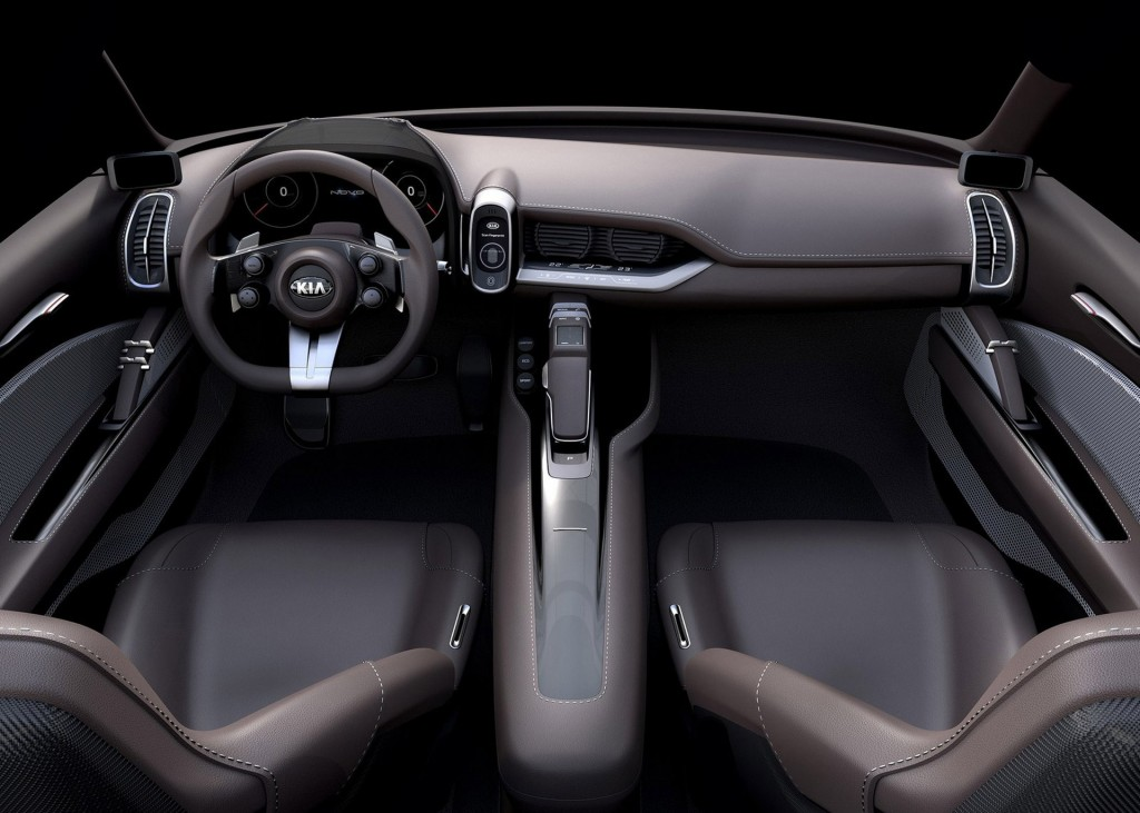 Kia novo concept hints at korean brand s next gen compacts - Car interior design ...