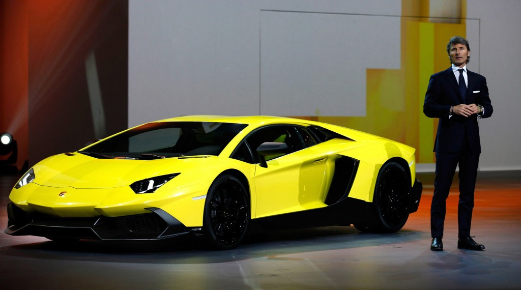 Lamborghini Aventador LP Lamborghini Aventador Yellow And Black