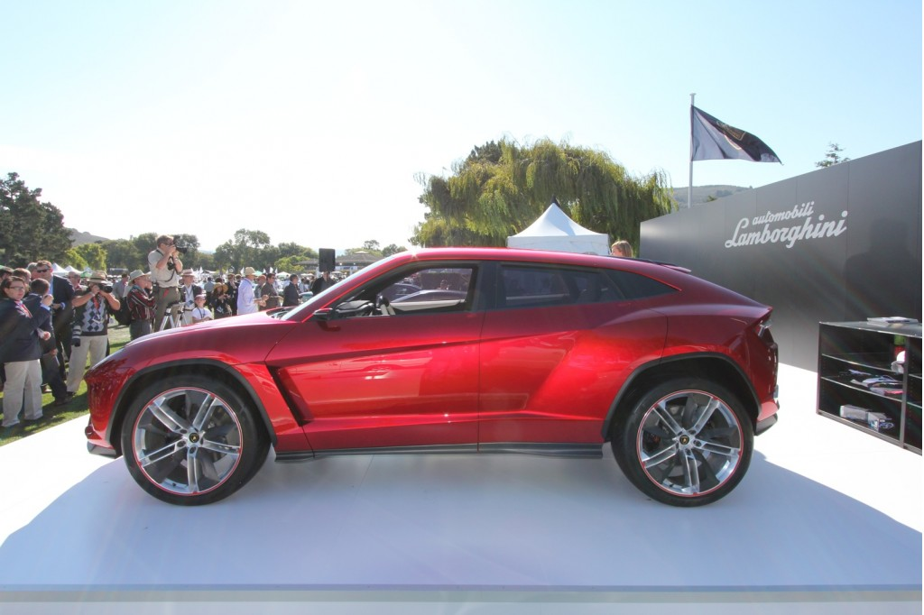 lamborghini urus suv approved for production in 2017. Black Bedroom Furniture Sets. Home Design Ideas