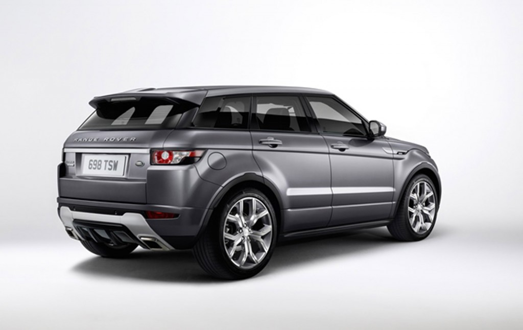 2015 range rover evoque gets autobiography trim and incontrol app system. Black Bedroom Furniture Sets. Home Design Ideas