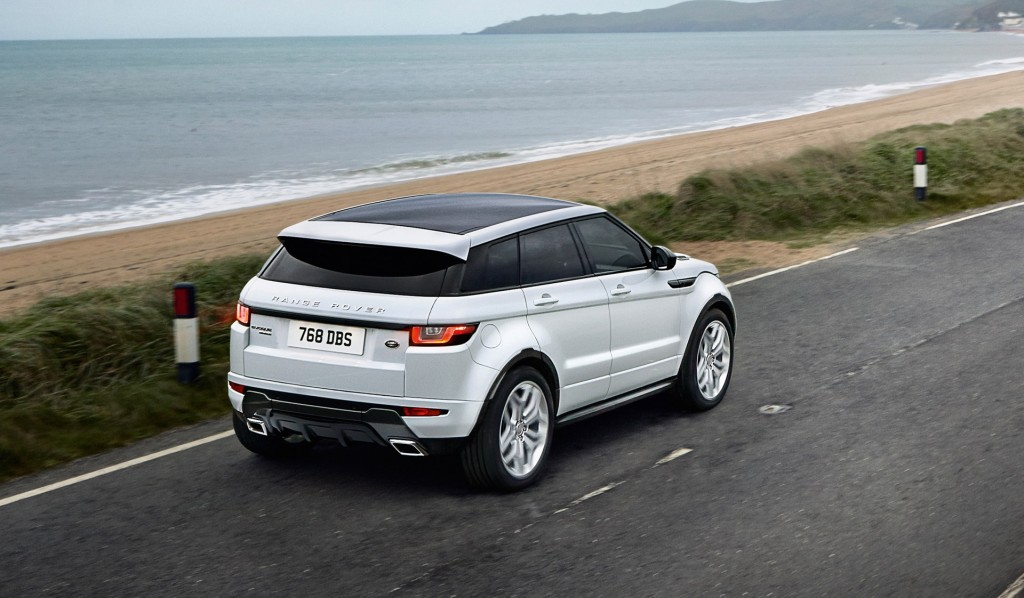 2016 Land Rover Range Rover Evoque Revealed With Led