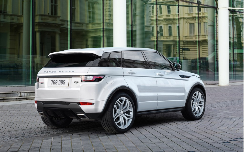 2016 land rover range rover evoque revealed with led headlights new engine. Black Bedroom Furniture Sets. Home Design Ideas