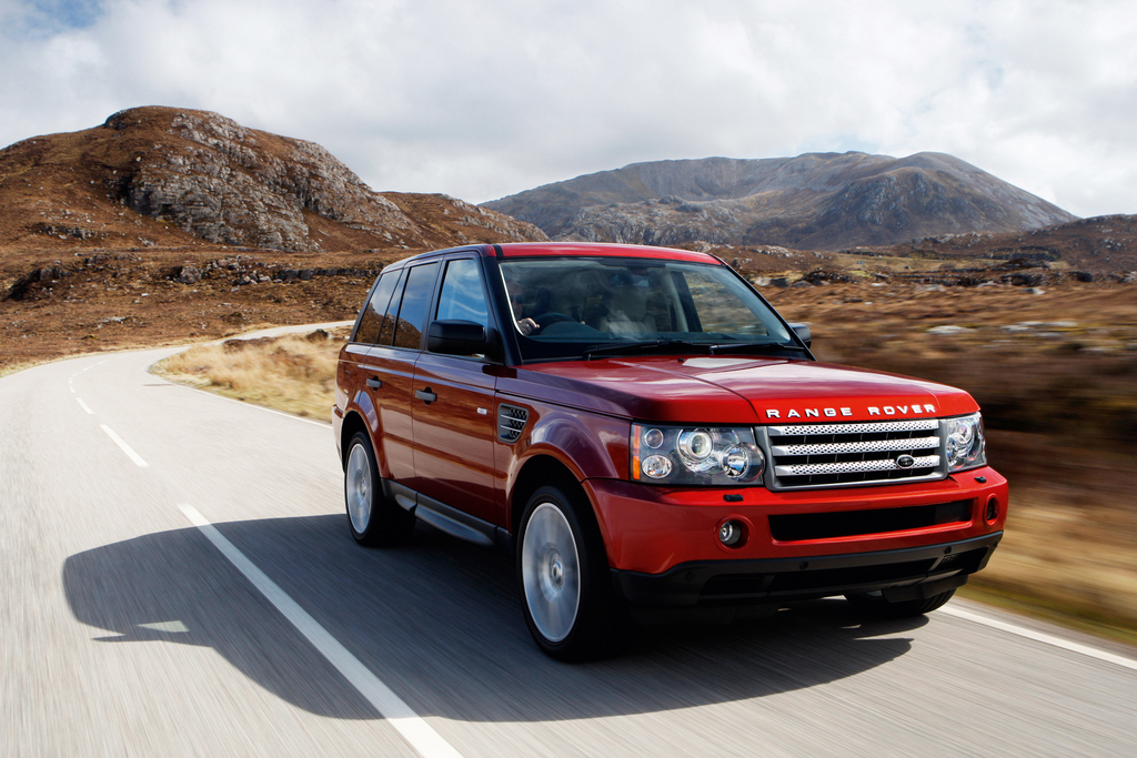 2009 land rover range rover safety review and crash test. Black Bedroom Furniture Sets. Home Design Ideas