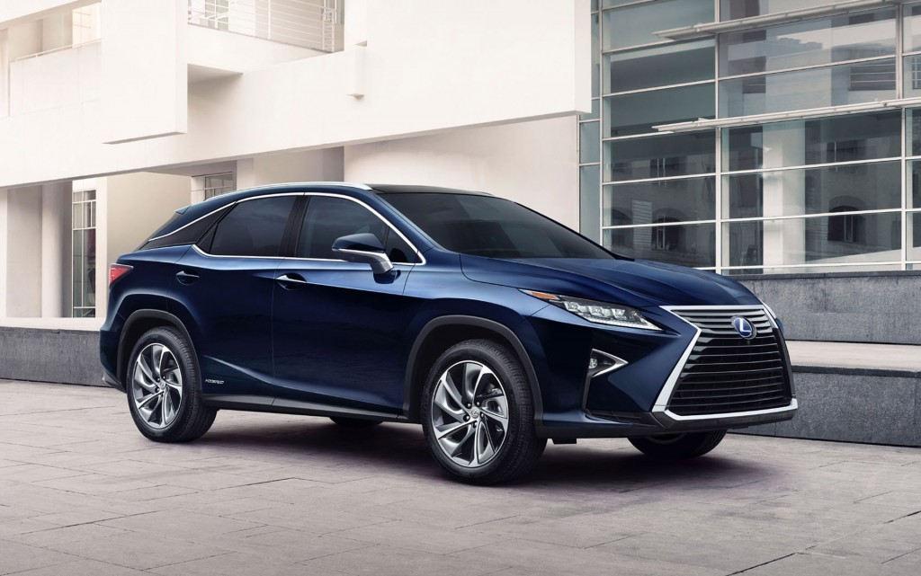 2016 lexus rx 450h hybrid unveiled at new york auto show. Black Bedroom Furniture Sets. Home Design Ideas
