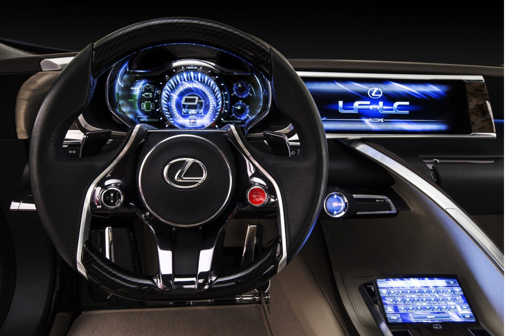 Production Lexus Lf Lc Will Be Almost Identical To Concept