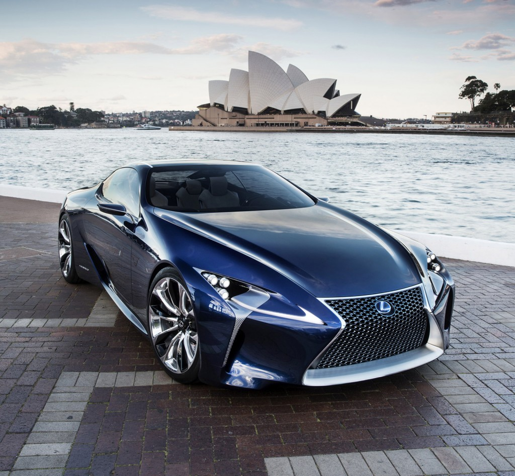 lexus lf lc concept confirmed for production report. Black Bedroom Furniture Sets. Home Design Ideas