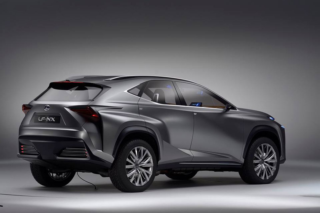2015 lexus nx confirmed for 2014 beijing auto show. Black Bedroom Furniture Sets. Home Design Ideas