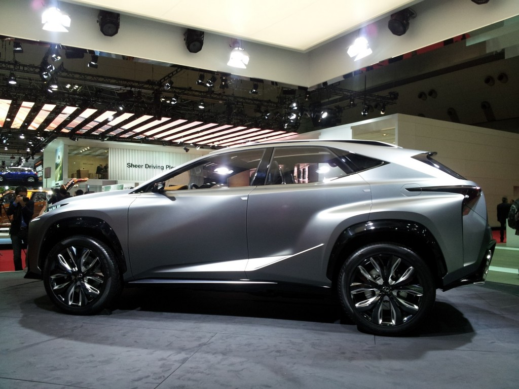 image lexus lf nx turbo advanced crossover concept 2013 tokyo motor show size 1024 x 768. Black Bedroom Furniture Sets. Home Design Ideas