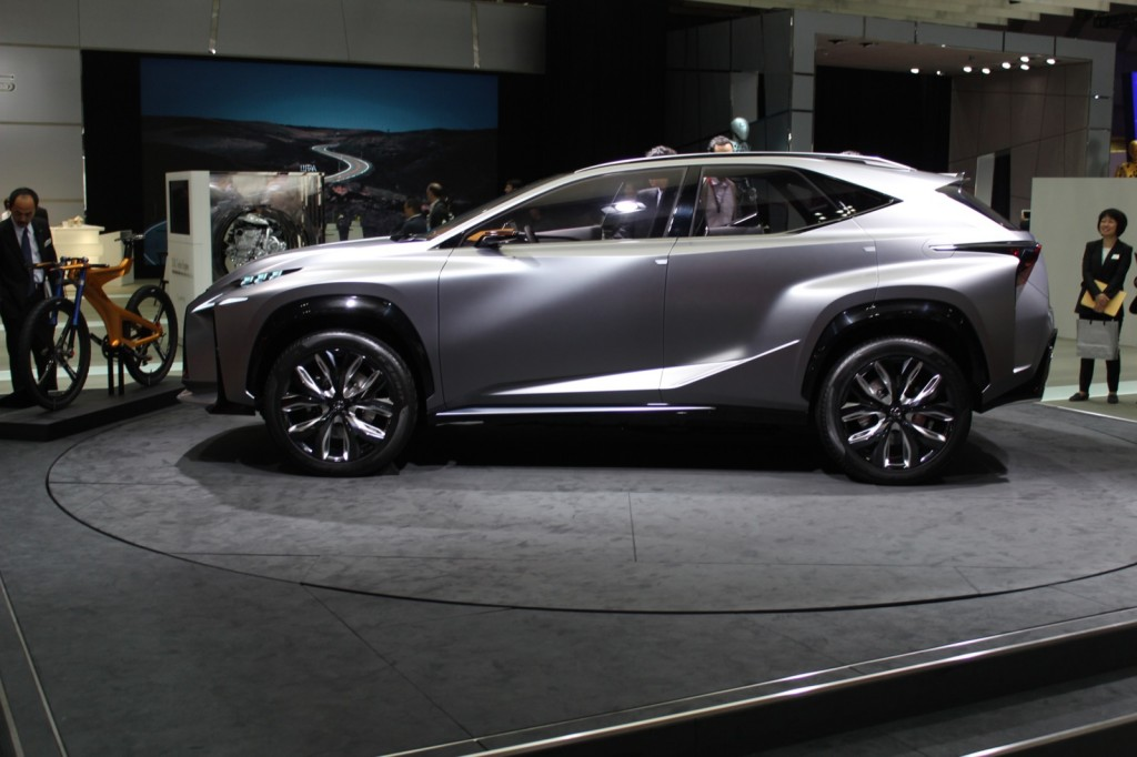 lexus lf nx turbo advanced crossover concept tokyo motor show live photos. Black Bedroom Furniture Sets. Home Design Ideas