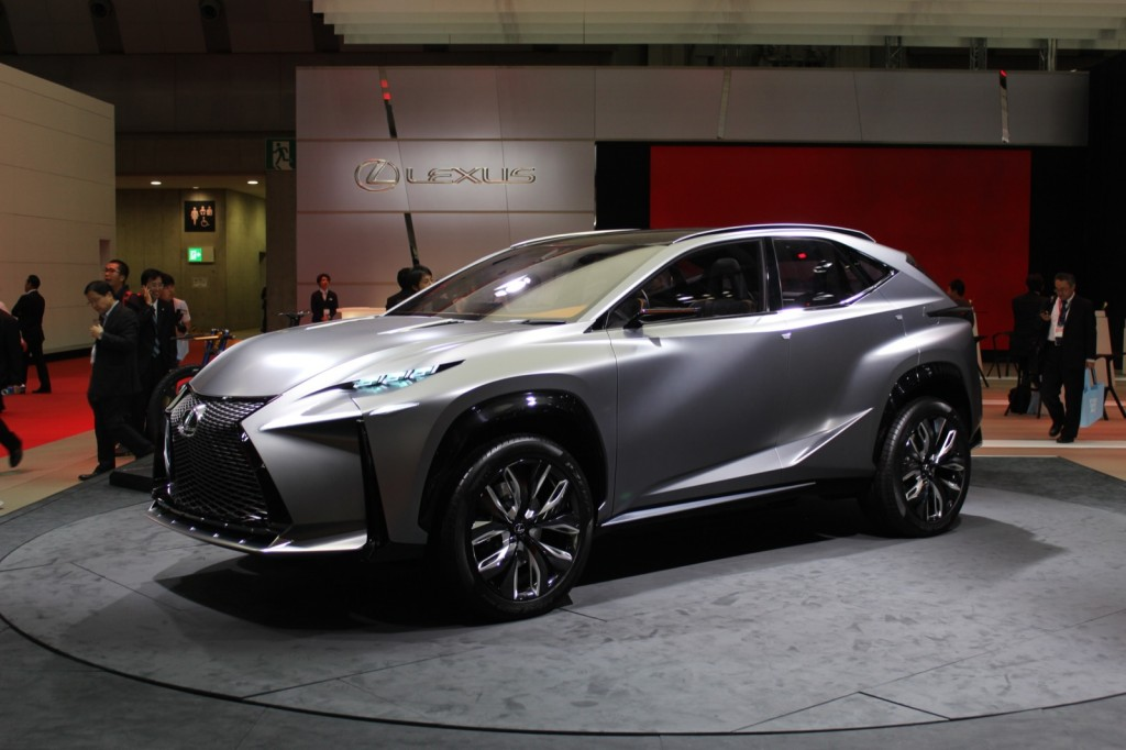 another lexus lf nx crossover concept tokyo motor show photos. Black Bedroom Furniture Sets. Home Design Ideas