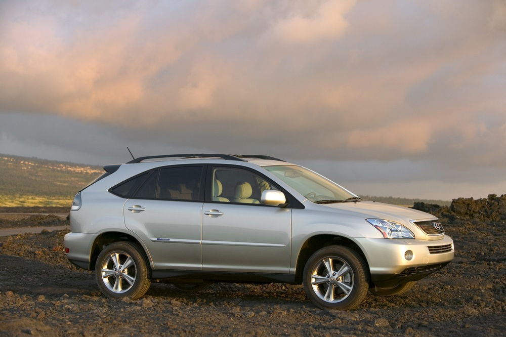 2008 lexus rx 400h pictures photos gallery green car reports. Black Bedroom Furniture Sets. Home Design Ideas