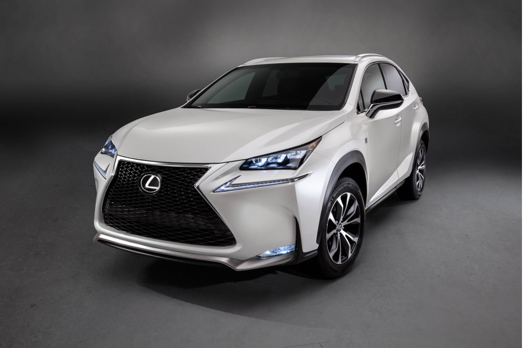 2015 lexus nx compact crossover coming with turbo hybrid power. Black Bedroom Furniture Sets. Home Design Ideas