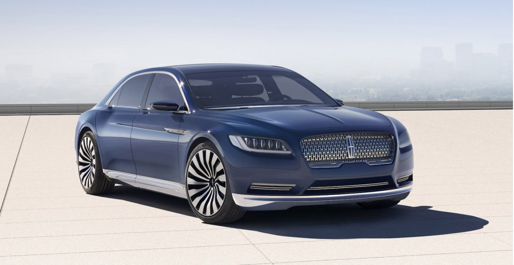 new lincoln continental coming in 2016 official. Black Bedroom Furniture Sets. Home Design Ideas