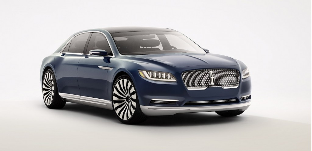 lincoln continental concept debuts at the 2015 new york. Black Bedroom Furniture Sets. Home Design Ideas