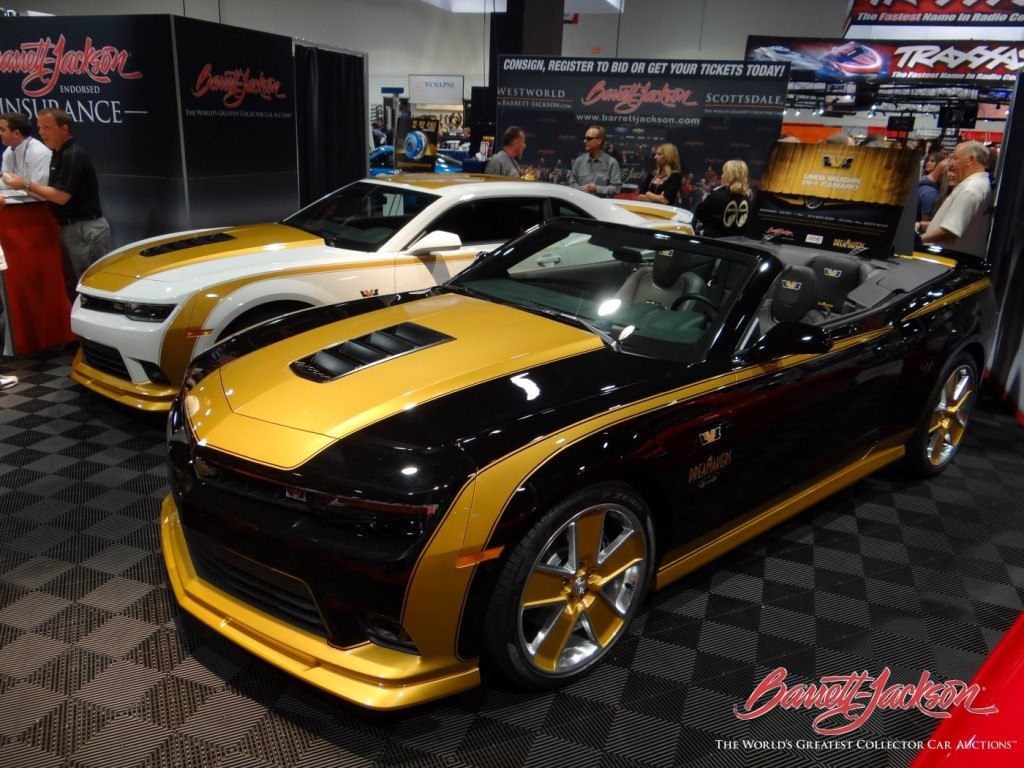 first 2014 camaro z 28 and copo camaro bring over 1 3 million at auction. Black Bedroom Furniture Sets. Home Design Ideas