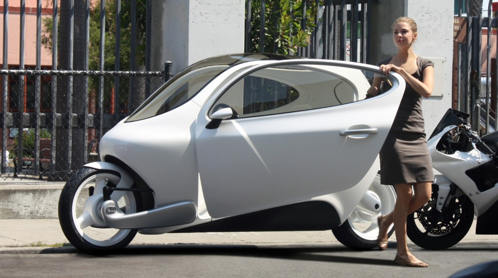 lit motors c1 the car like motorcyle that can 39 t fall down