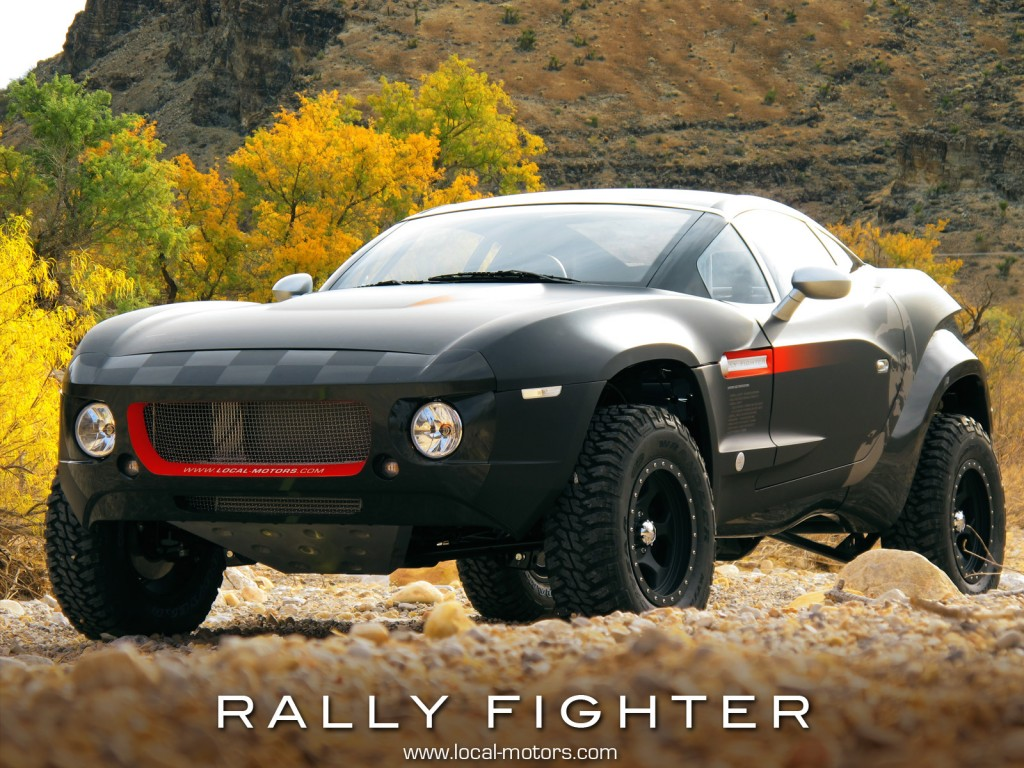 The Next Rally Fighter Local Motors Announces New Design
