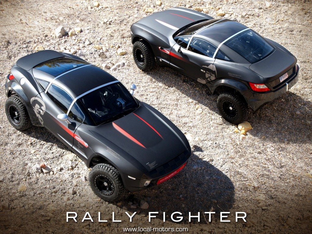 video local motors rally fighter kicks sand in your face. Black Bedroom Furniture Sets. Home Design Ideas