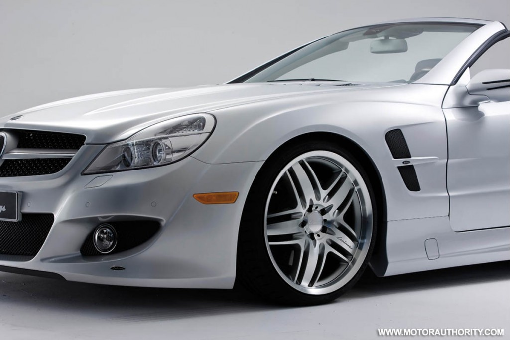 Mercedes benz sl class tuned by lorinser for Mercedes benz sl class sl500