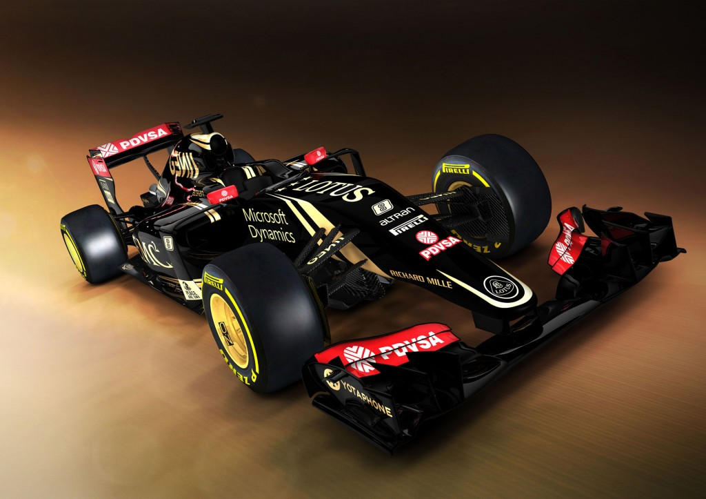lotus f1 team switches to mercedes power for 2015 formula one car. Black Bedroom Furniture Sets. Home Design Ideas