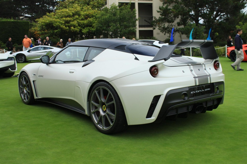 lotus evora gte road car concept live 2011 pebble beach. Black Bedroom Furniture Sets. Home Design Ideas