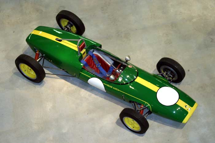 Lotus race car