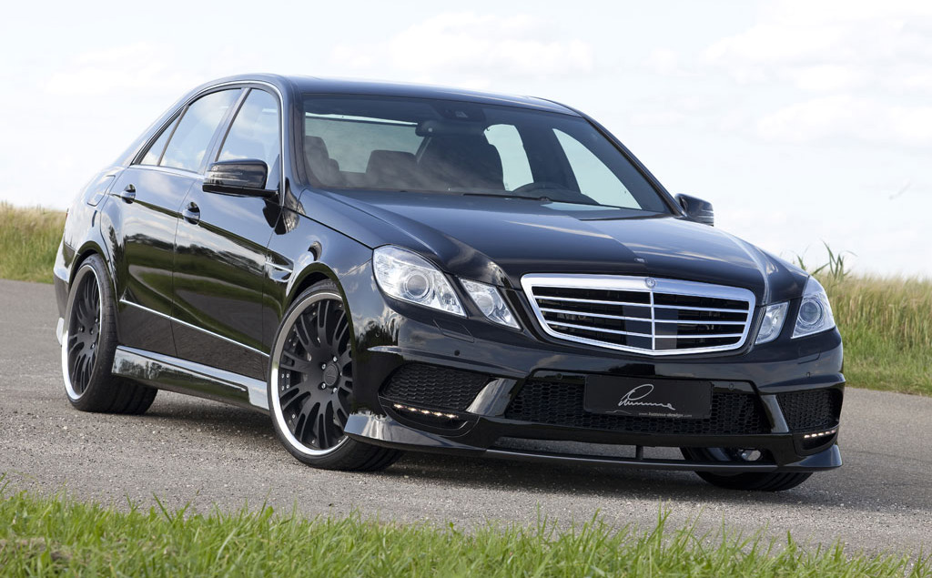 early look at lumma design tuning kit for 2010 mercedes benz e class. Black Bedroom Furniture Sets. Home Design Ideas