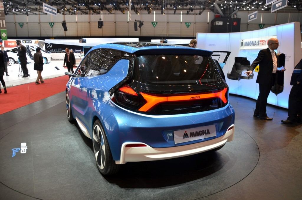 Small obscure green cars at the 2014 geneva motor show for What does a motor vehicle report show