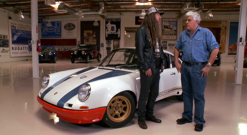 Magnus Walker Brings His Porsche 911 72str 002 To Jay Leno