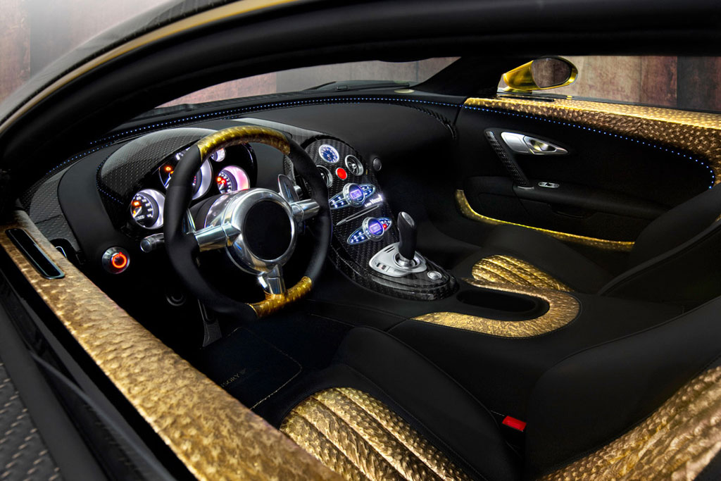 mansory linea vincero d oro bugatti veyron the ultimate in vehicle customization. Black Bedroom Furniture Sets. Home Design Ideas