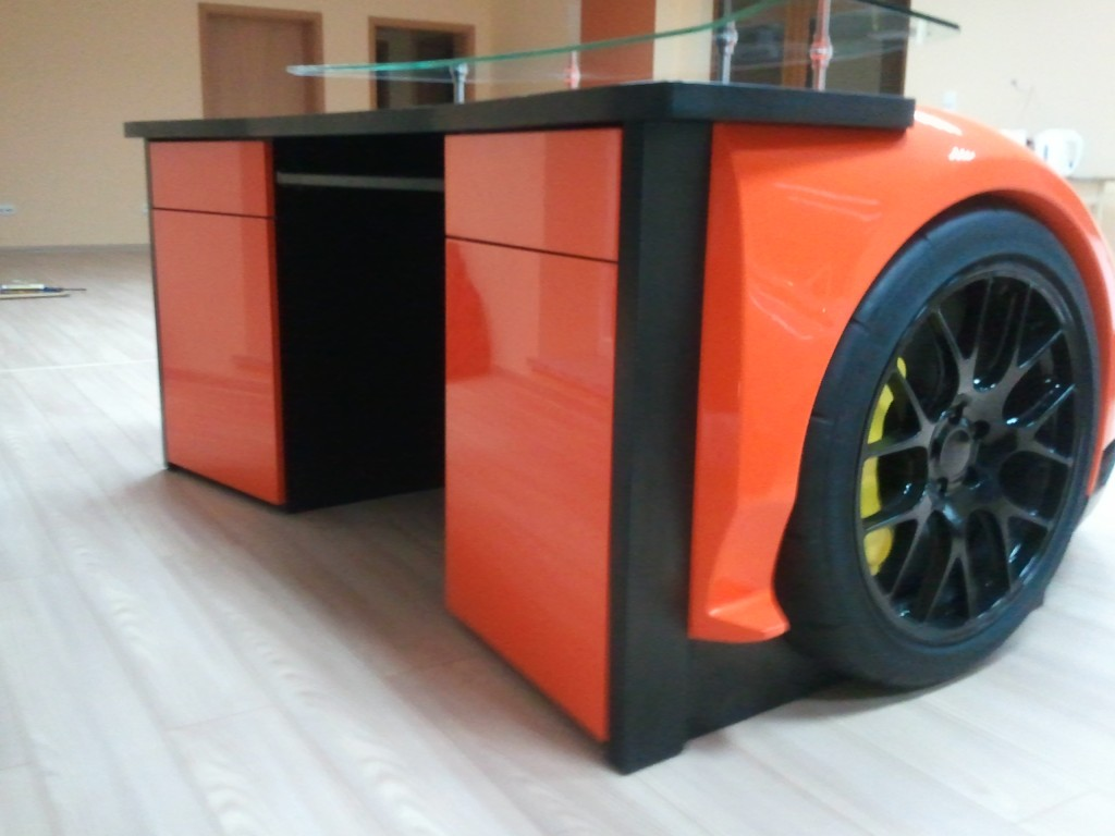 for the man who has everything a lamborghini desk