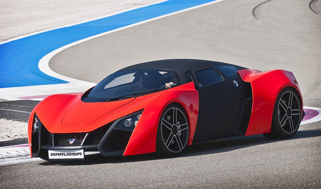2013 Marussia B2 Sports Car Spy Shots