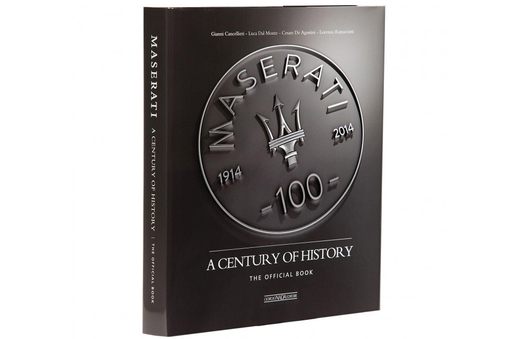 New Book Charts 100 Years Of Maserati History