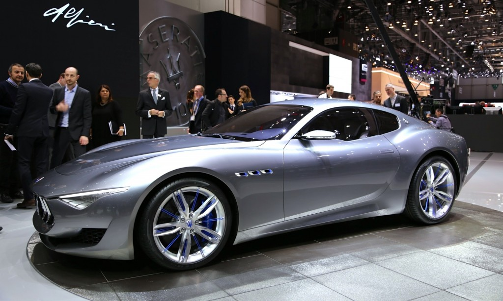 Maserati Alfieri Concept The Mustang Source Ford