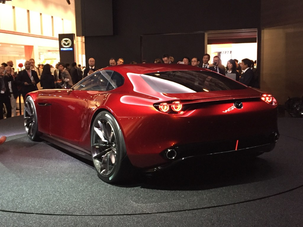 mazda rx vision concept hints at next rotary engine live photos. Black Bedroom Furniture Sets. Home Design Ideas