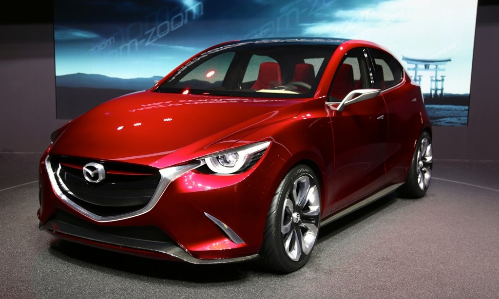 Mazda Mzd Connect Apps >> Next Mazda 2: Hazumi Concept Live Photos From Geneva Show