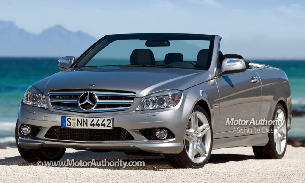 report new mercedes c class cabrio to be called clr. Black Bedroom Furniture Sets. Home Design Ideas
