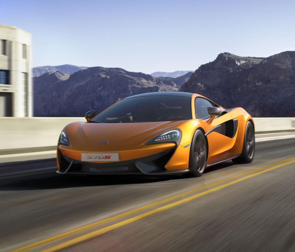 McLaren 570S Coupe Revealed Ahead Of 2015 New York Auto