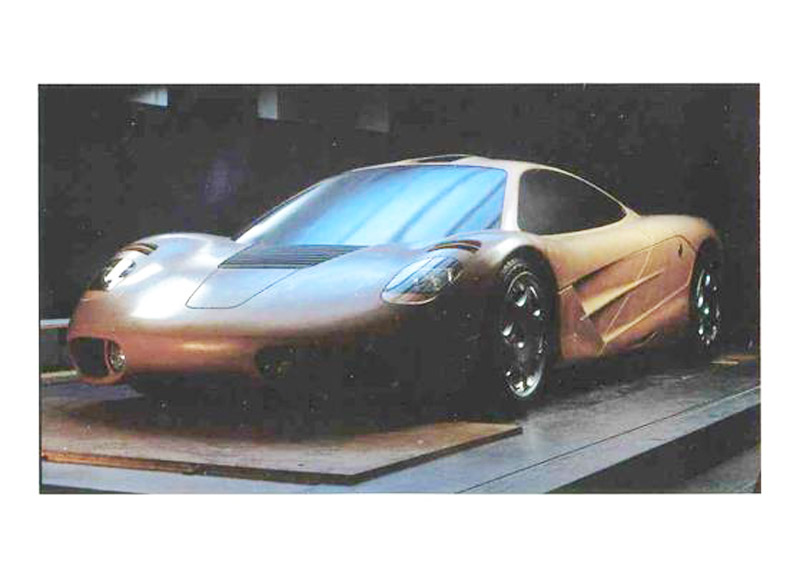 A Look Back At The Original Clay Models For The McLaren F1