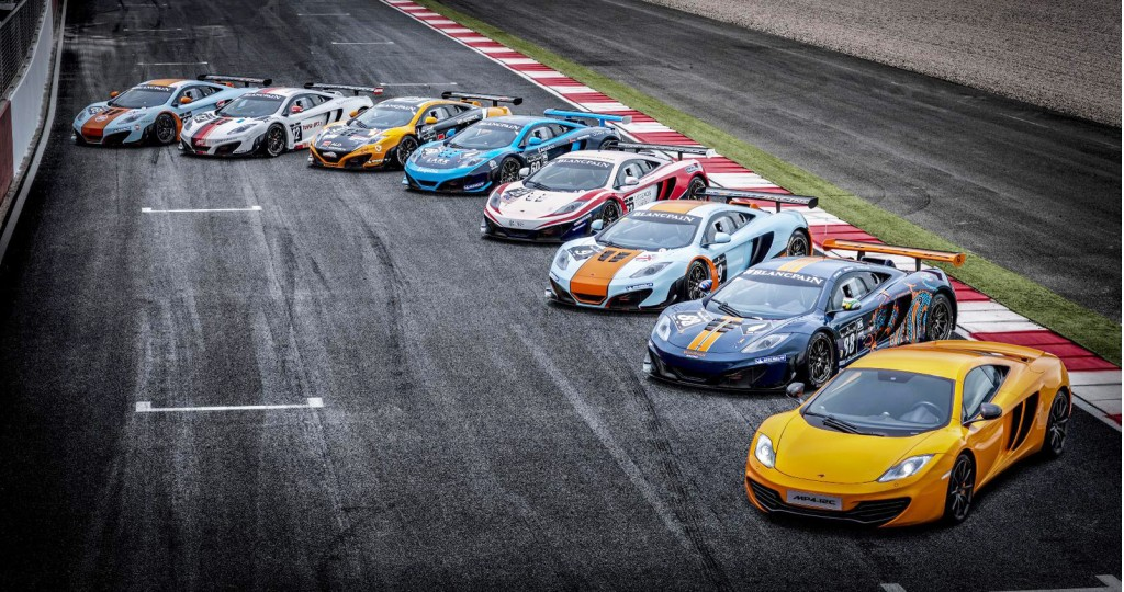 fleet of nine mclaren mp4 12c gt3s to tackle spa 24 hours. Black Bedroom Furniture Sets. Home Design Ideas