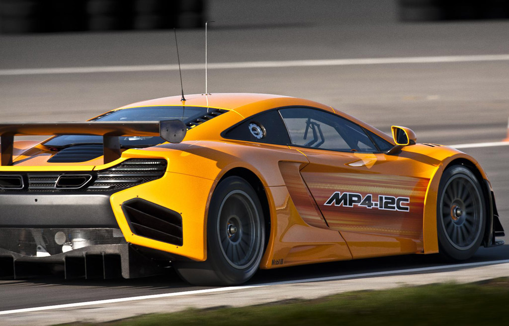 mclaren mp4 12c gt3 race car revealed. Black Bedroom Furniture Sets. Home Design Ideas
