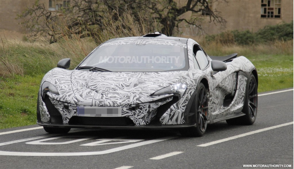 Mclaren P1 Supercar Spy Video