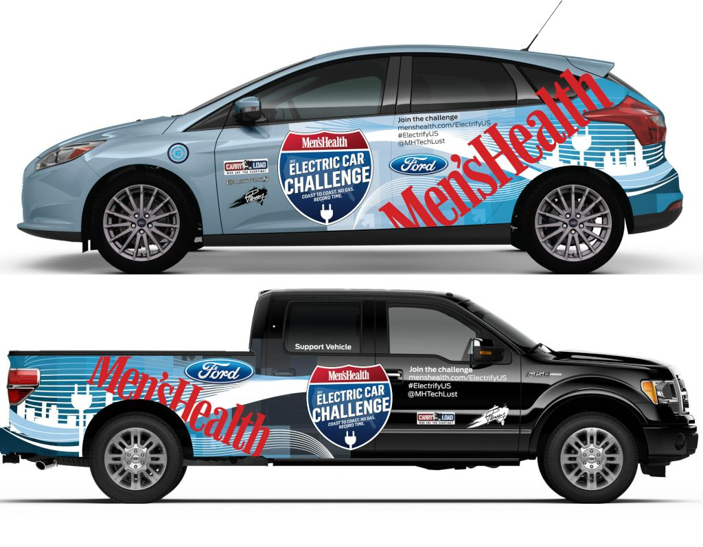 Ford Focus Electric car challenge